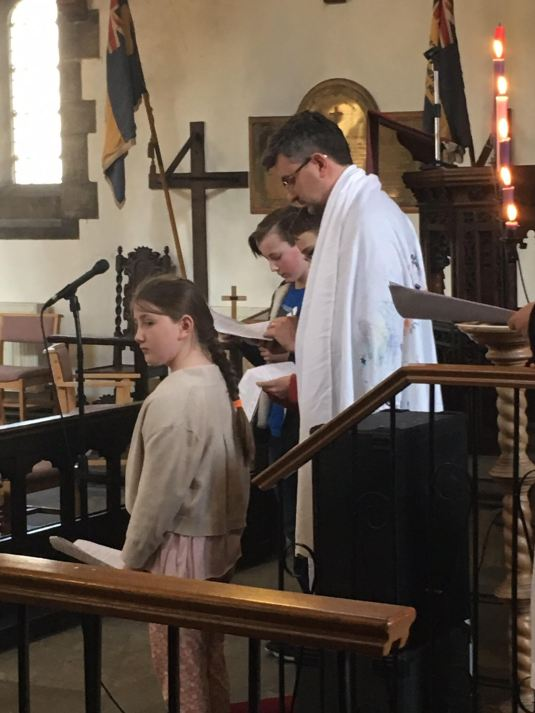 We recently saw 6 people from our Benefice confirmed
