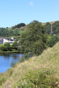 Walsden again from the canal