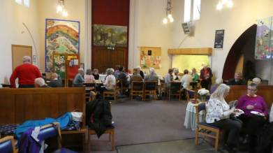 Jacobs join at a Benefice United Service